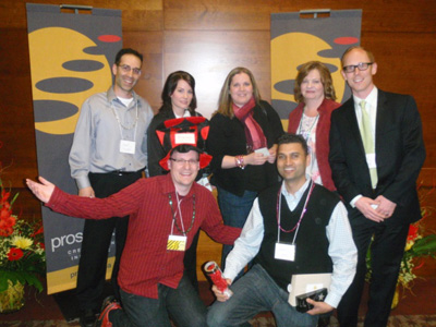 Bright Ideas Takes Team Building Prize at 2011 BC Event Awards