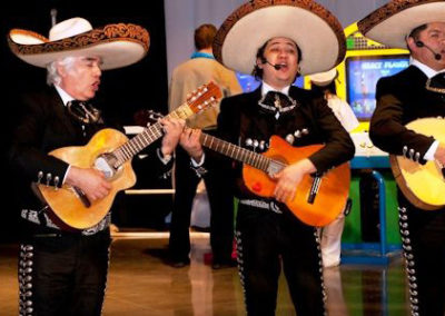 Mariachi performers at a Bright Ideas event