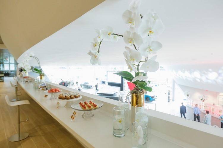 Worlds Longest Dessert Bar on the third floor